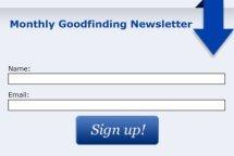 goodfinding newsletter