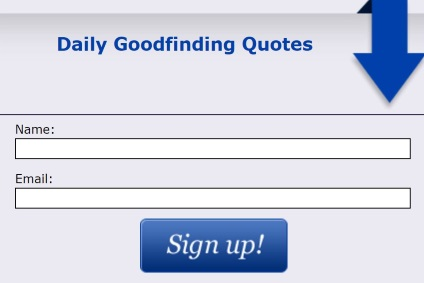 daily goodfinding quotes