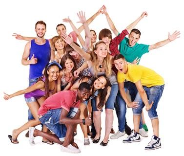 happy group