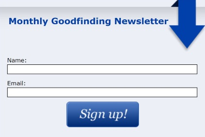 goodfinding newsletter